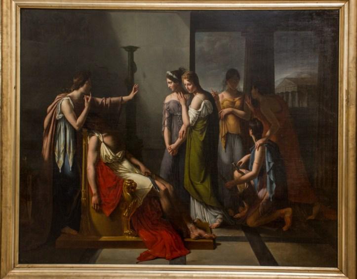 Francois du Bois (1820): Le Sommeil d'Oreste