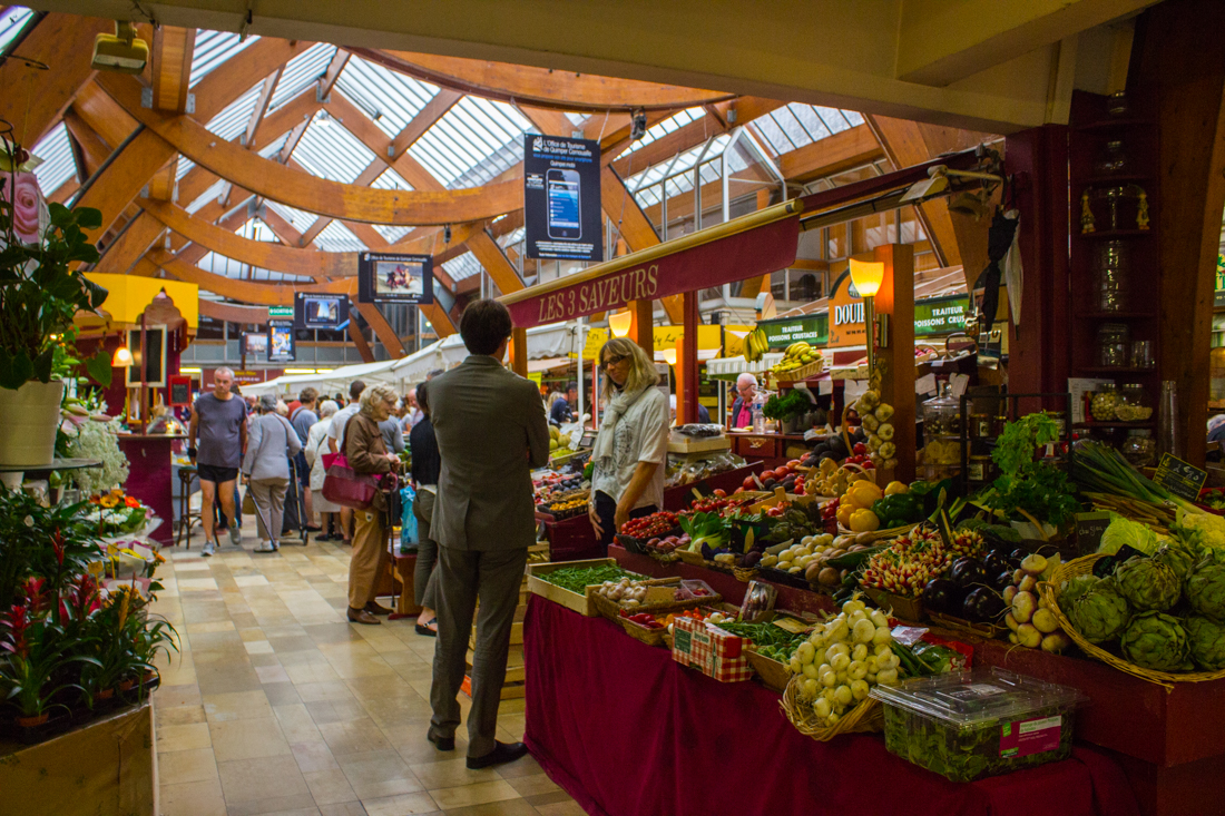 The Covered Market in Quimper