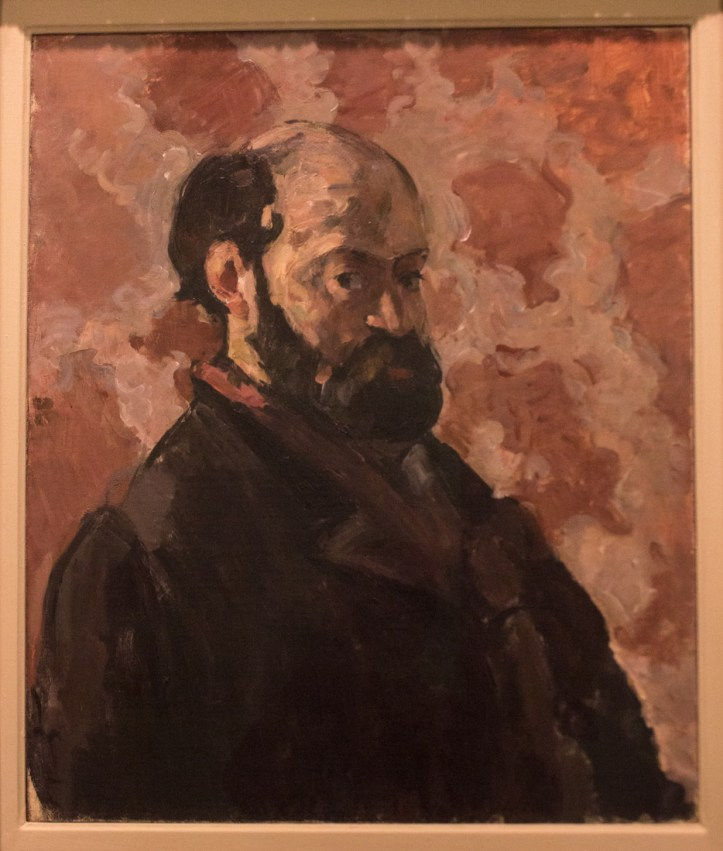Cezanne self-portrait