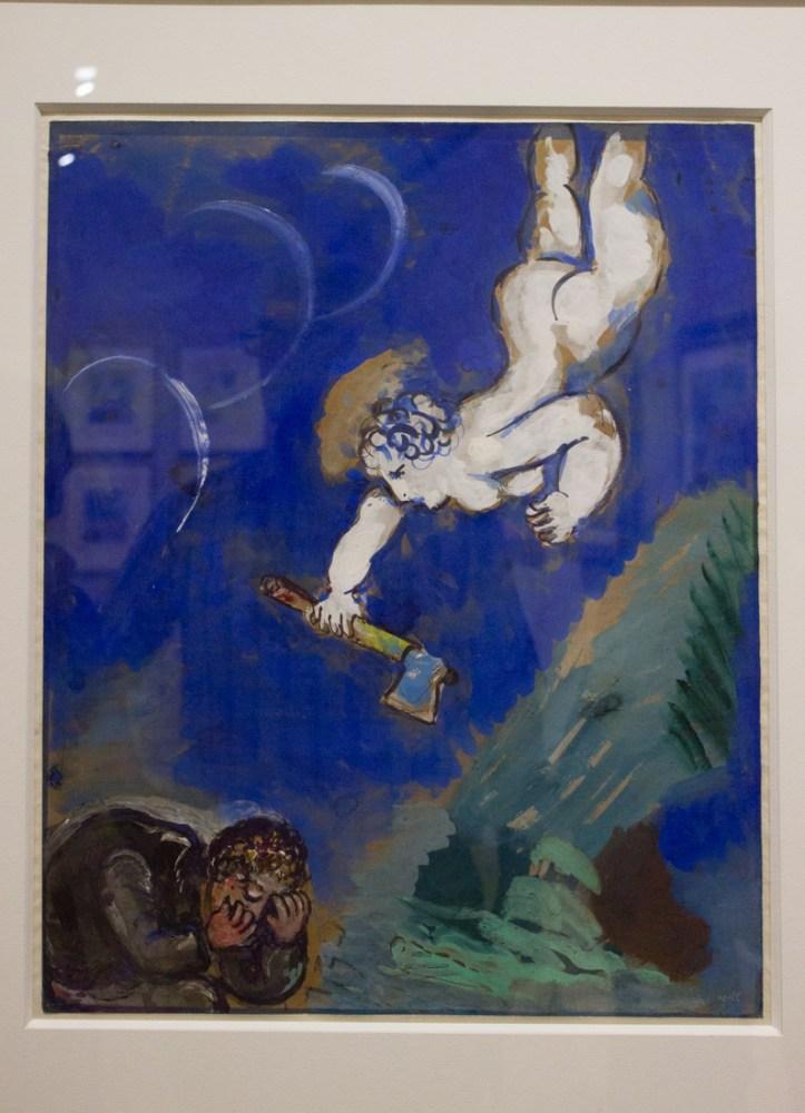 Mercury & the Woodman, La Fontaine's Fables (Le Boucheron et Mercure)