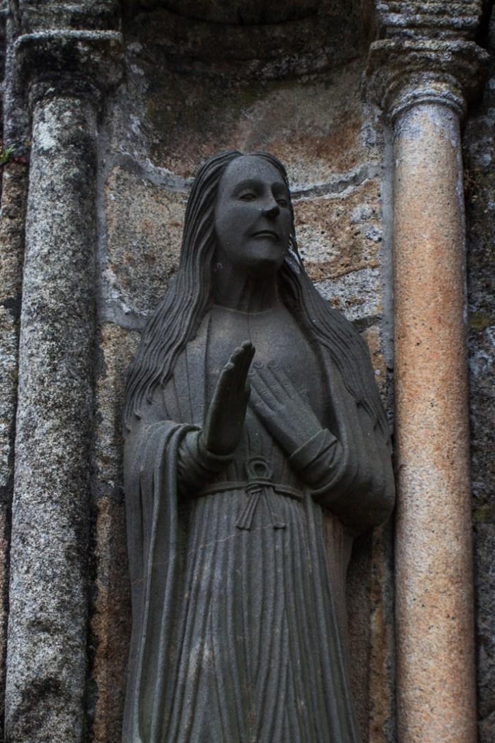 The Virgin Mary on the South Porch, Bodilis Church
