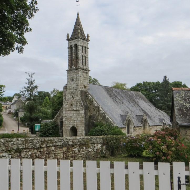 The Church of Bonne Nouvelle at Locmaria Berrien