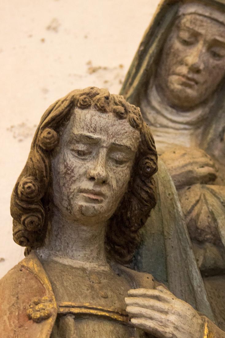 St John, The Descent from the Cross, Lampaul-Guimiliau
