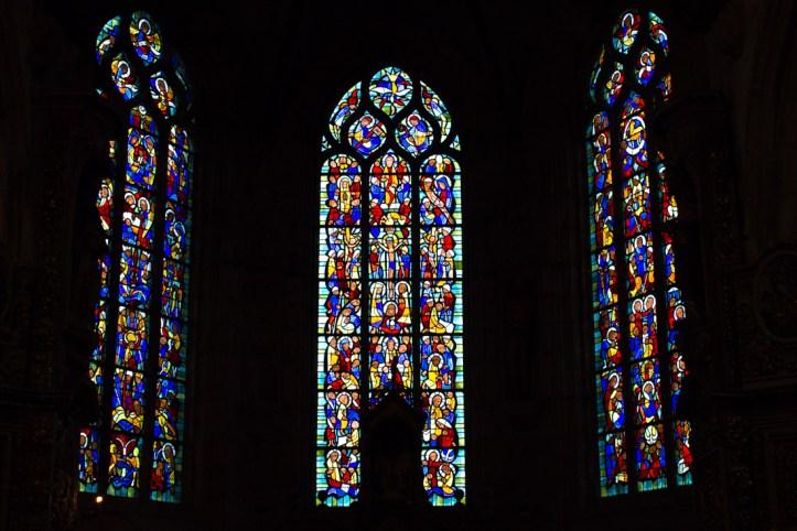 Stained glass, Notre Dame de Lampaul-Guimiliau