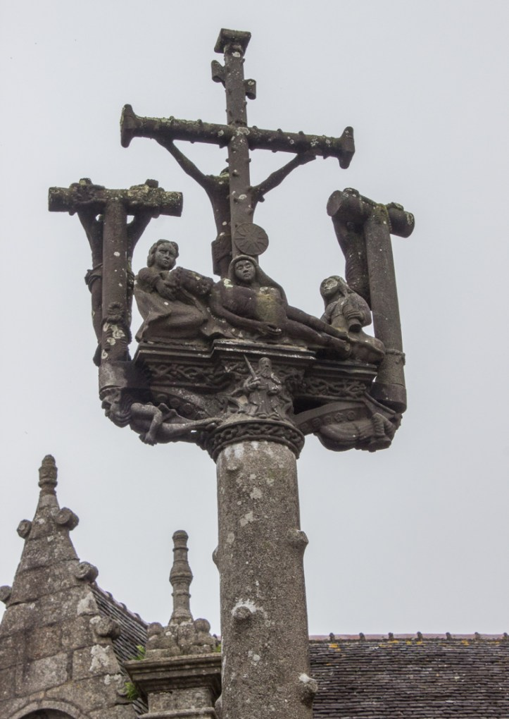 The double-sided Calvary, Lampaul-Guimiliau