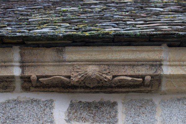 Angels on the Church of St Suliau, Sizun