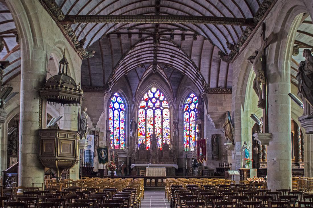 The Church of St Germain d'Auxerre, Pleyben