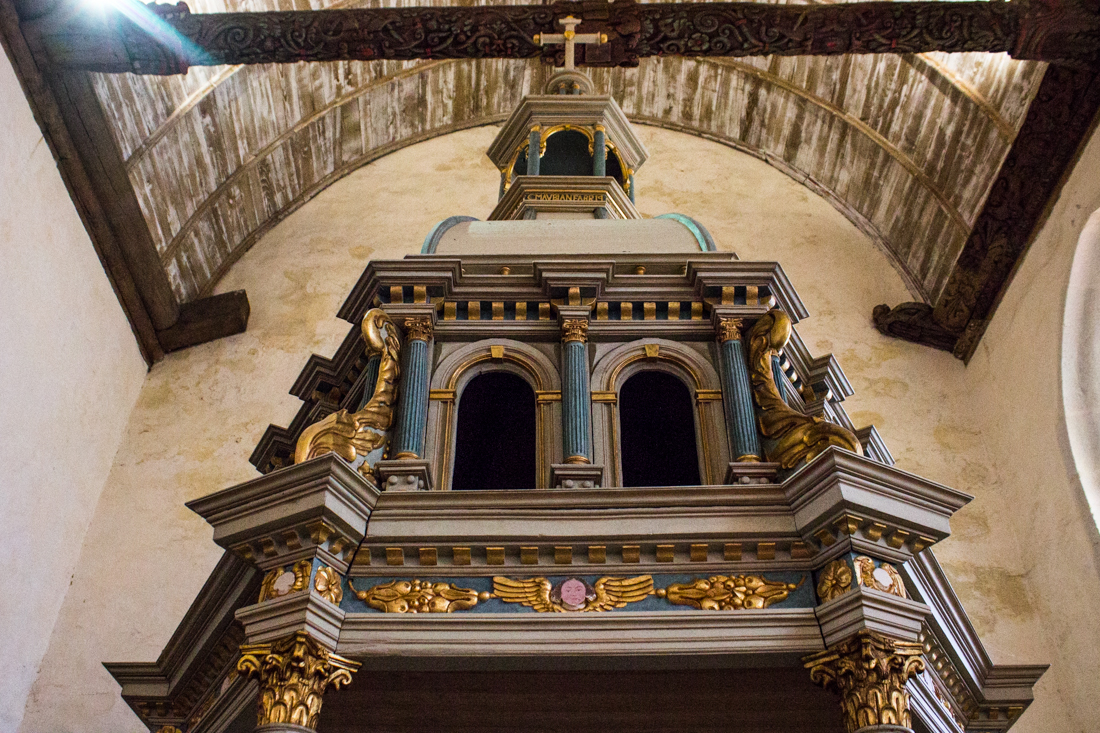 The Church of La Martyre