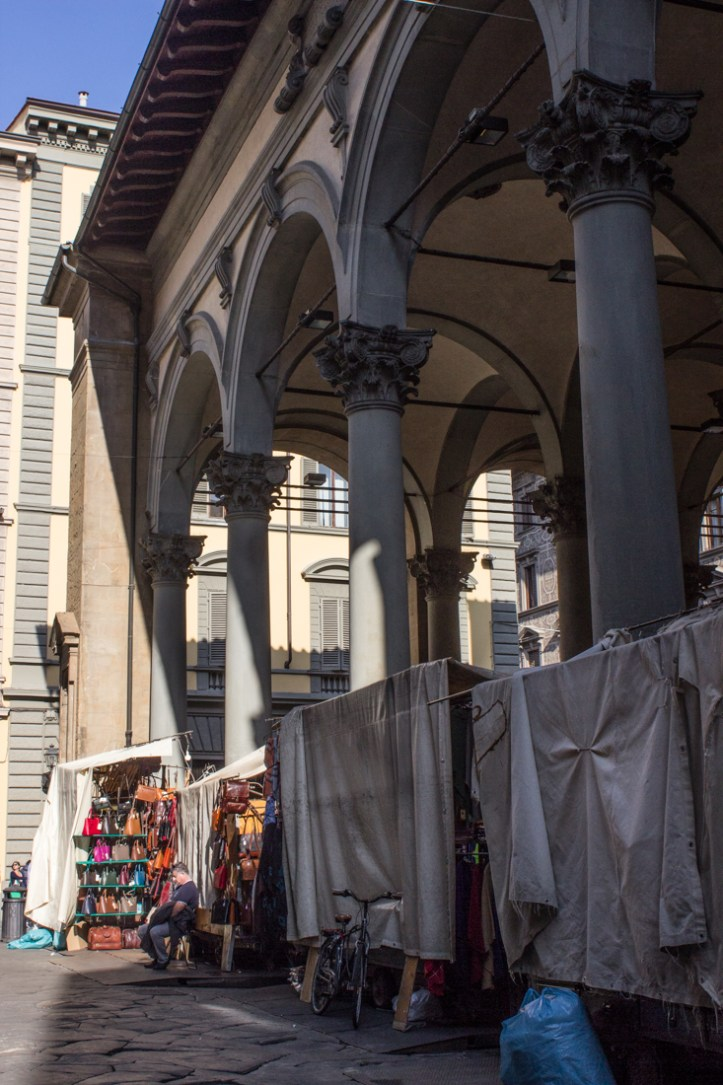 The Old Market in Florence