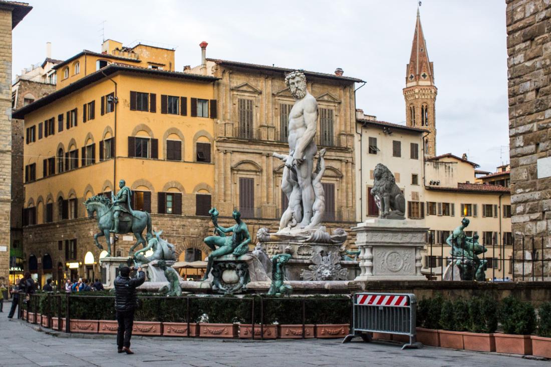 The Piazzo della Signoria