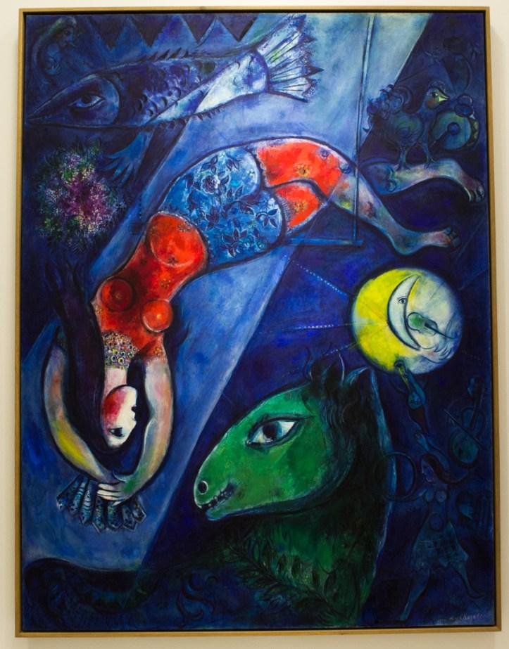 Chagall exhibition in Landerneau