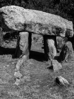 Prehistoric site at Quelarn