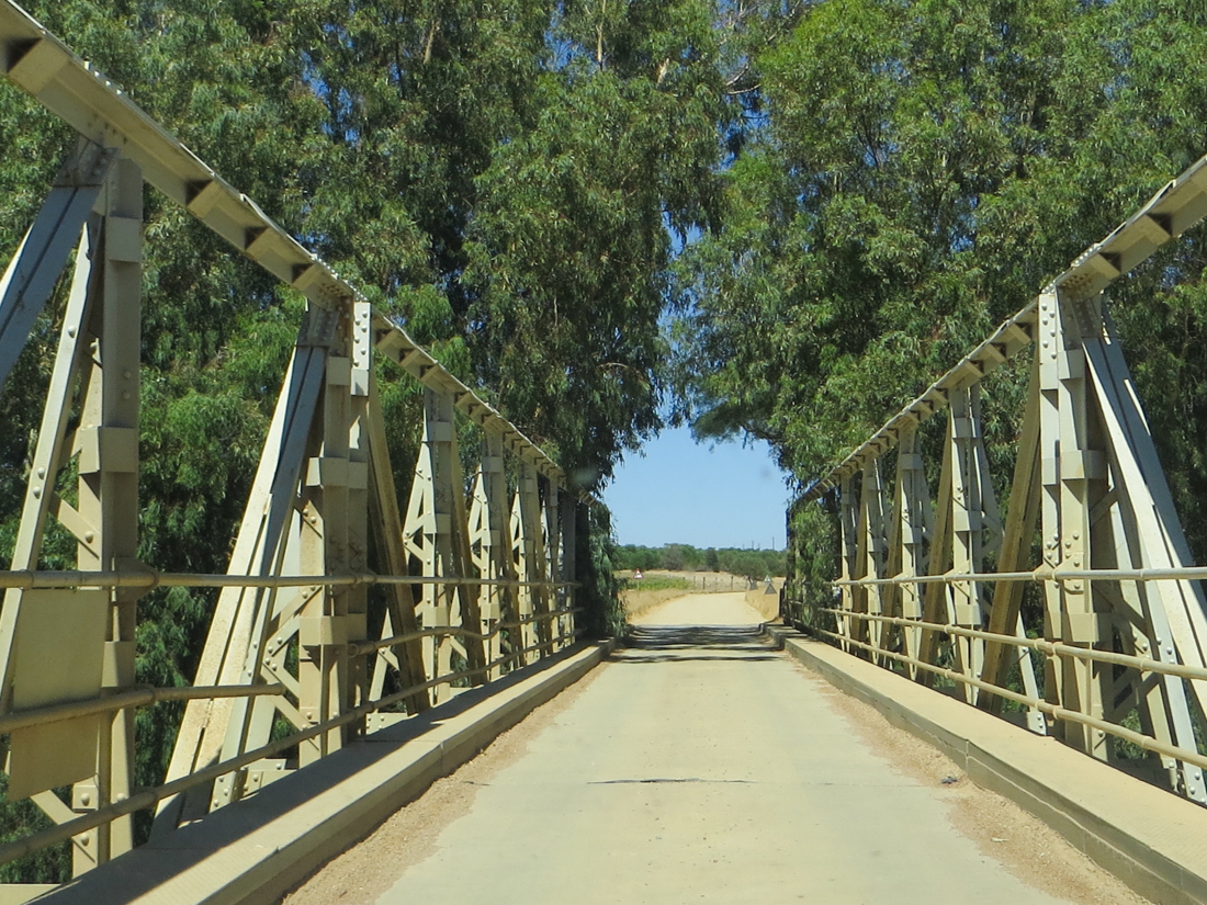 A bridge over the Berg River