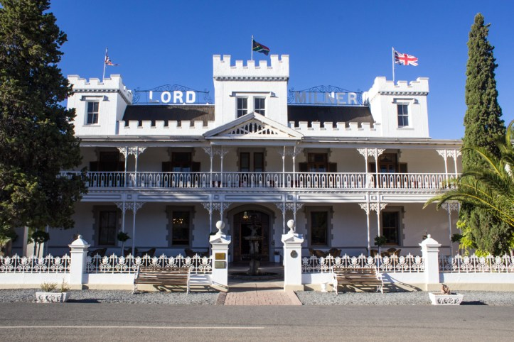 The Lord Milner Hotel at Matjiesfontein