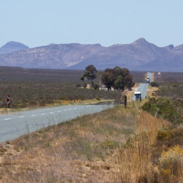 Tulbagh to Matjiesfontein via the backroads