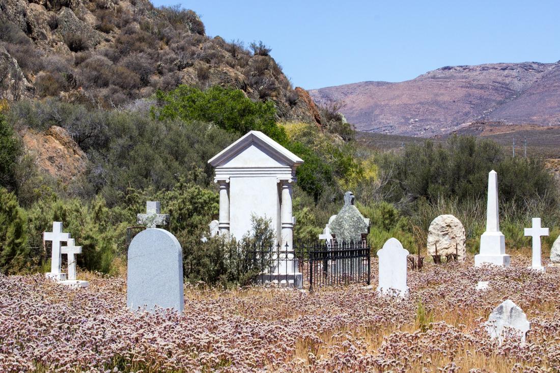 The Matjiesfontein Graveyard
