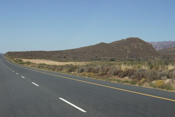 The N1 leading to Matjiesfontein