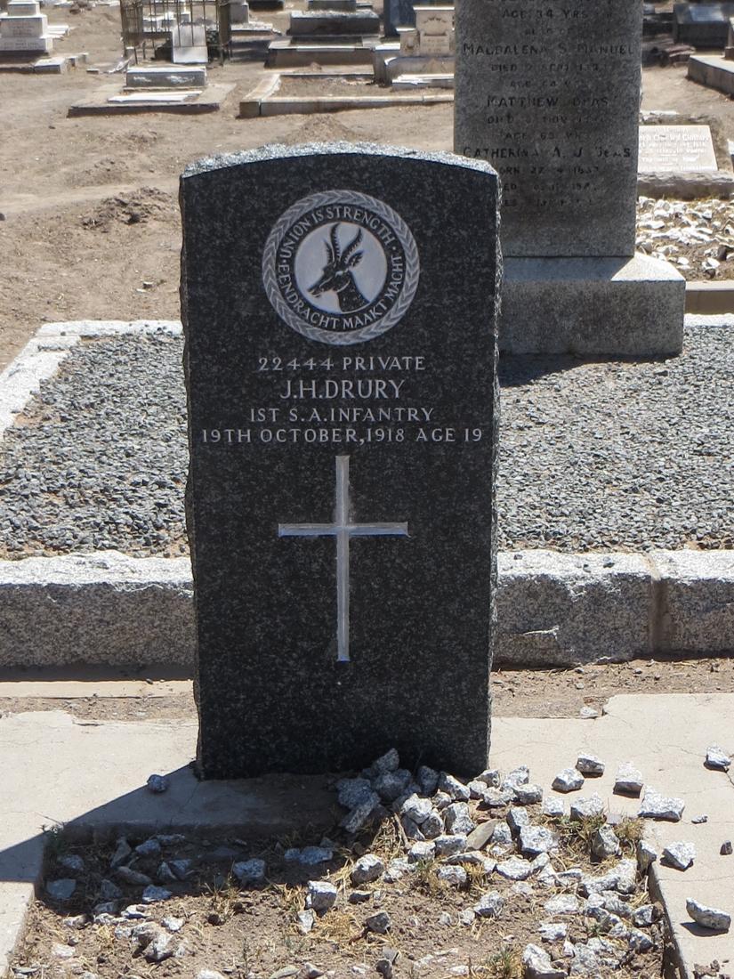The graveyard in Beaufort West
