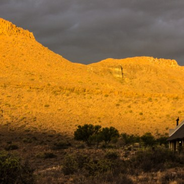 Stormy weather in the Karoo National Park