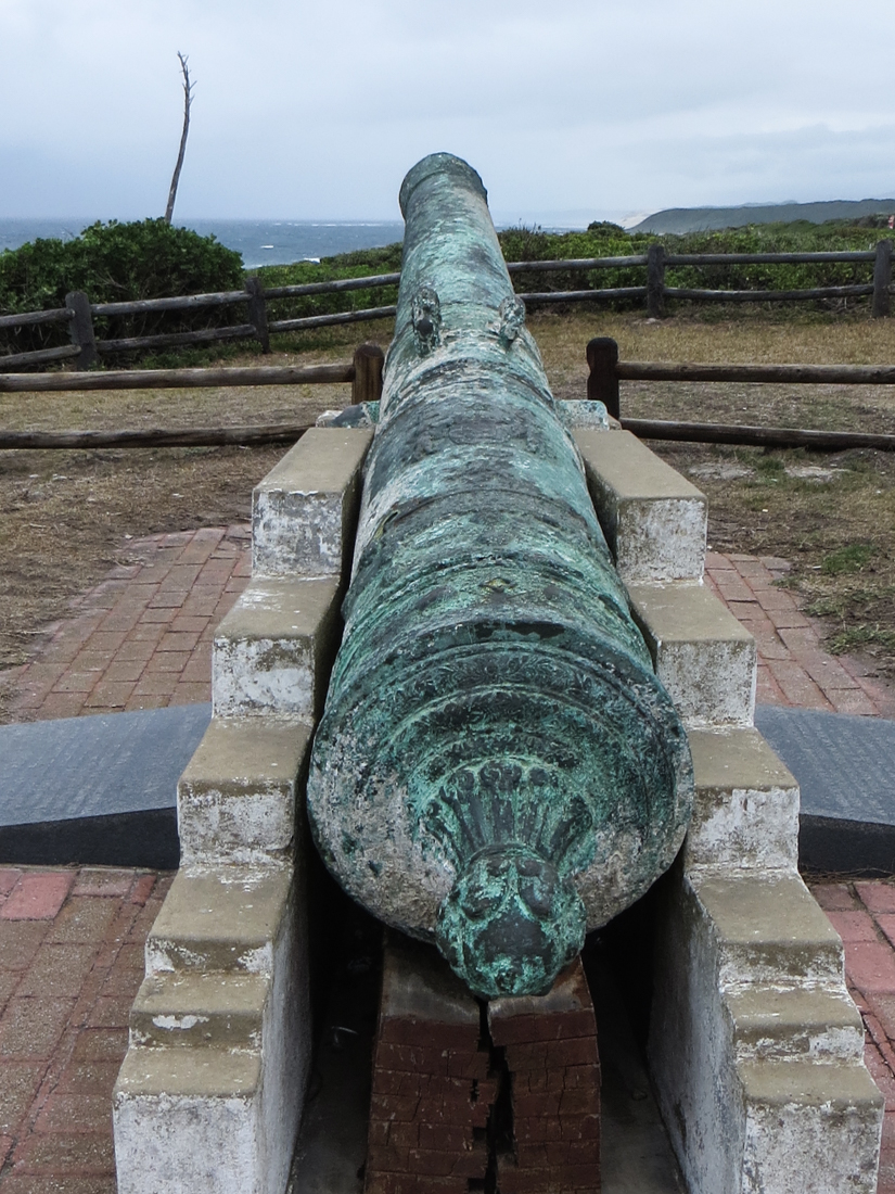 Gun from the Portuguese ship, the Sacramento