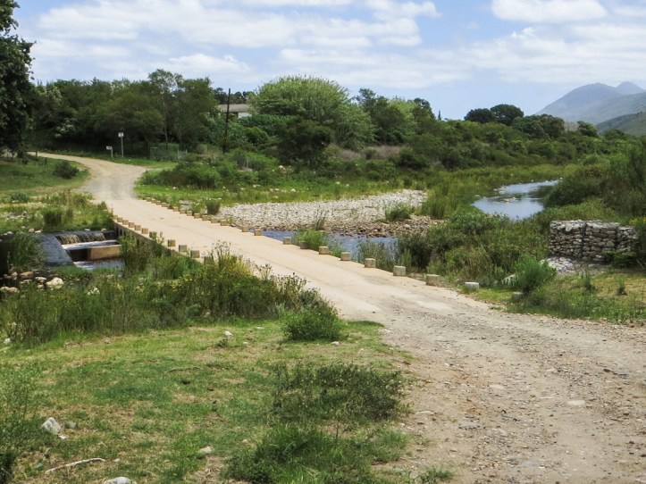 The Buffelsjag River at Suurbraak