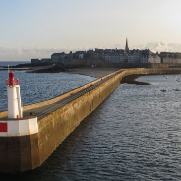 Early morning in St Malo