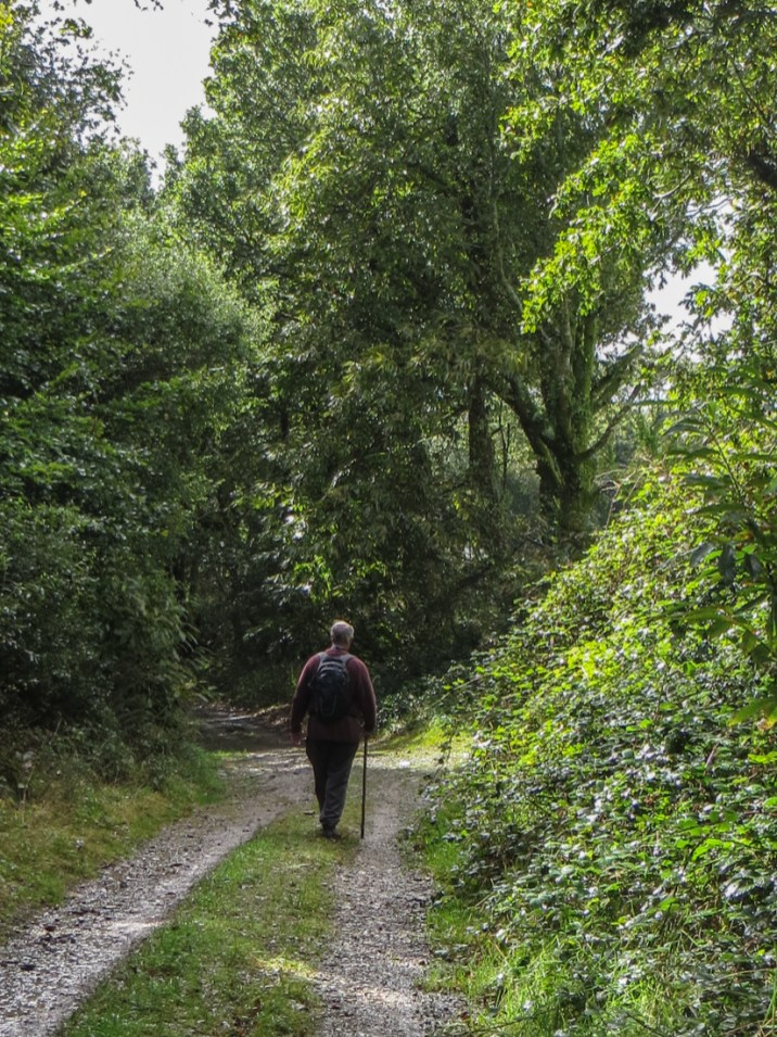 Walking around the Reservoir de St Michel