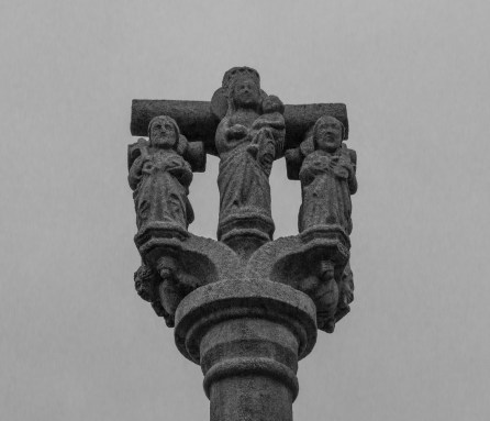 Calvary at the Church of Le Quillio