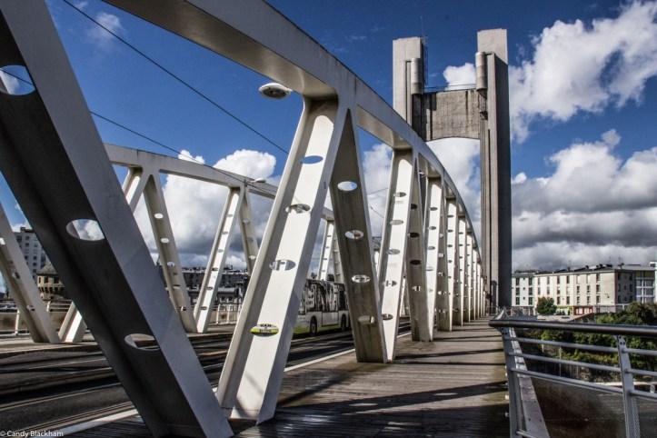 Pont de Recouvrance over the River Penfeld