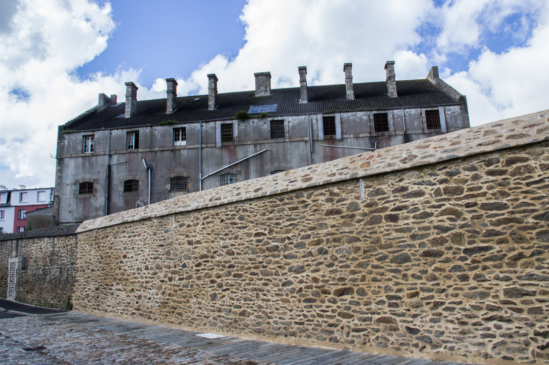 The Pontaniou Prison in Recouvrance, Brest