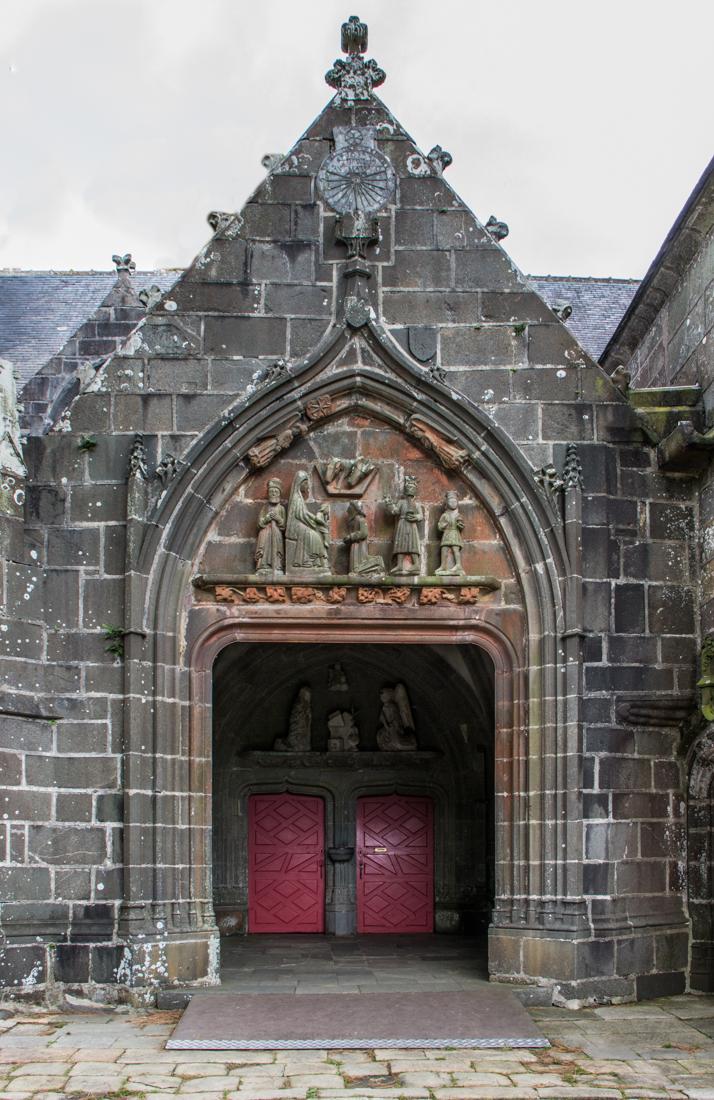 The South Porch, Notre Dame de Rumengol, with mid-15C Tympanum