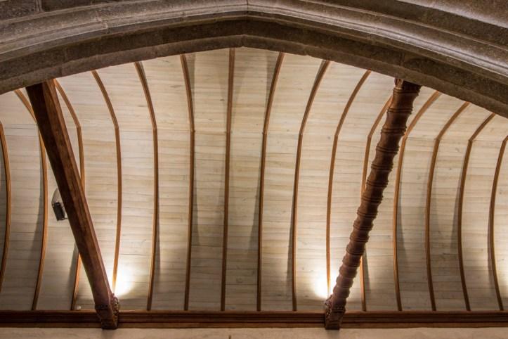 The Crossbeams in the Church of Lampaul-Guimiliau