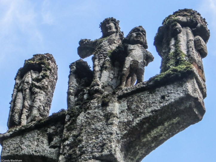The Calvary at the Chapel of St Mathurin