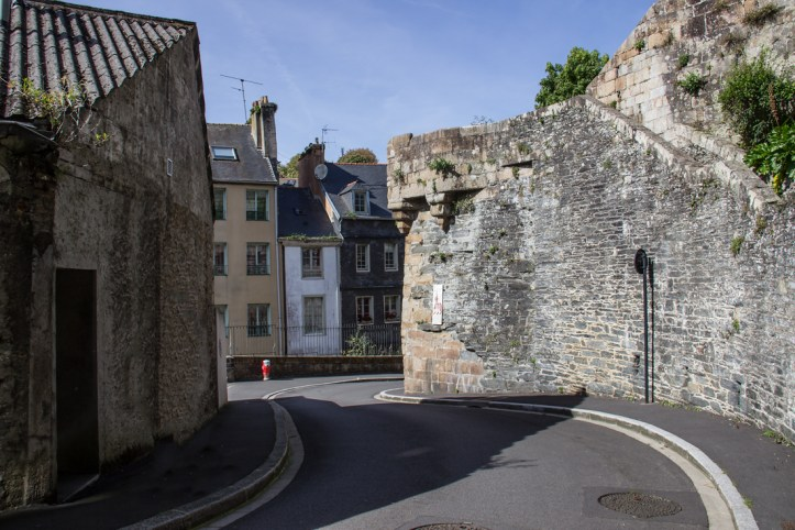 One of the old gates of Morlaix