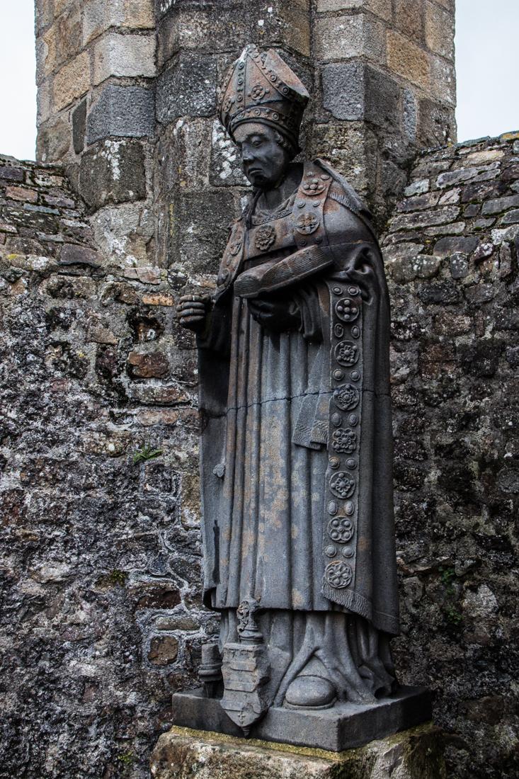 St Guenole, Landevennec Abbey