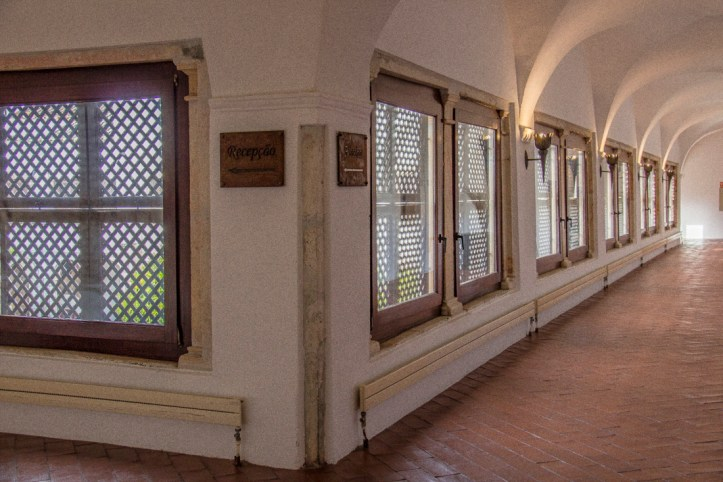 The Upper Cloister in the Pousada Vila Vicosa