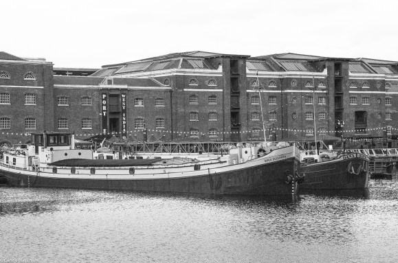 Barges & original 19C Warehouses