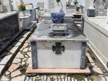 Cemetery in Borba