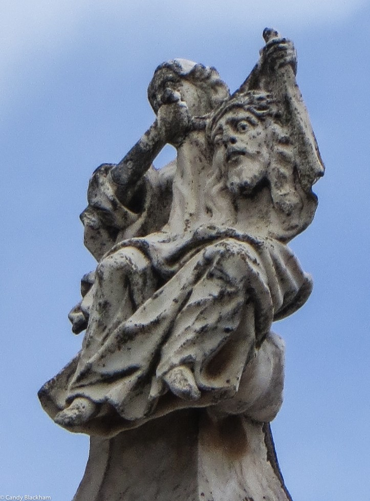 Carving on the Chapel