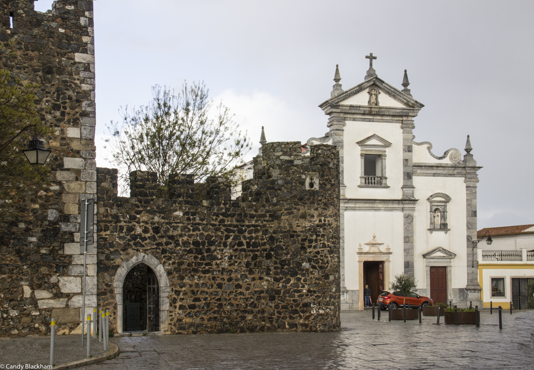 The Cathedral of Beja, adjacent to the Castle
