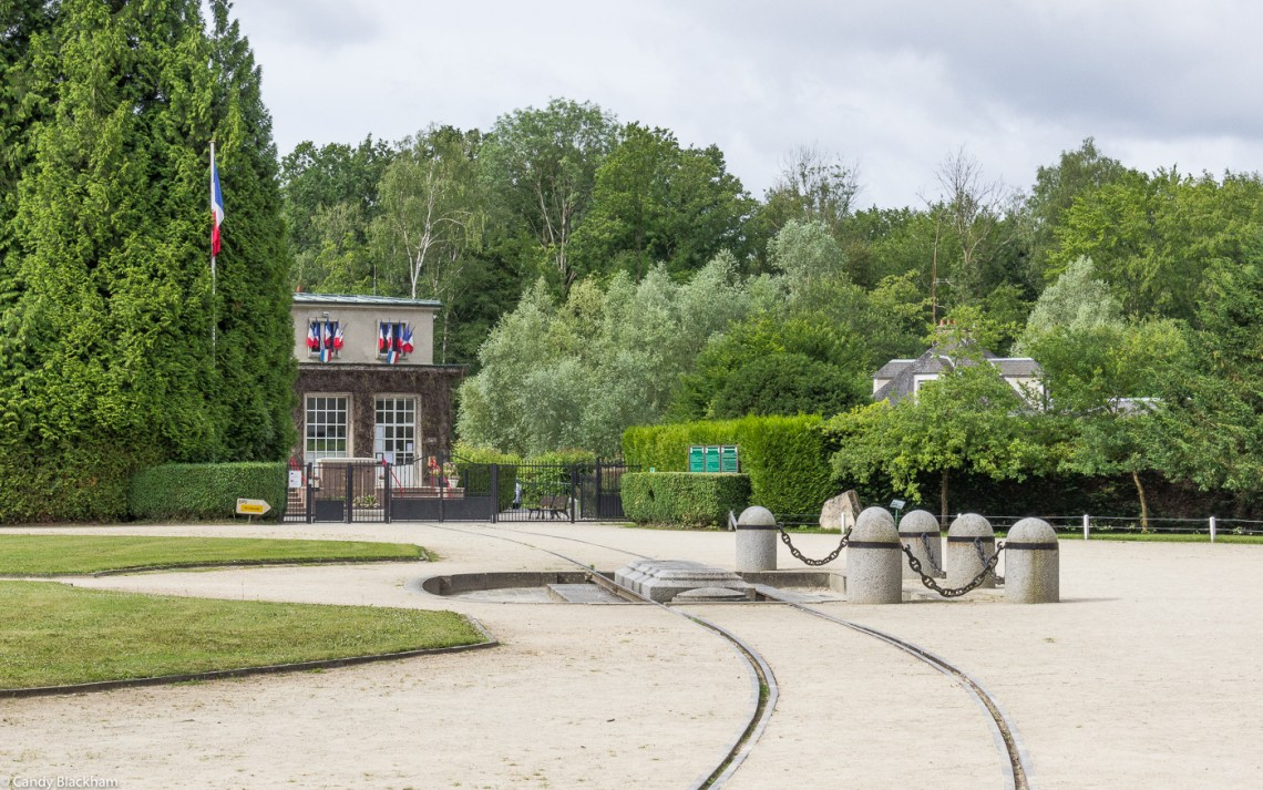 The site of the signing of the Armistice, Compiegne