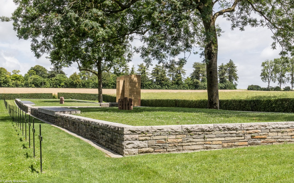 The mass graves in the German Cemetery at Fricourt