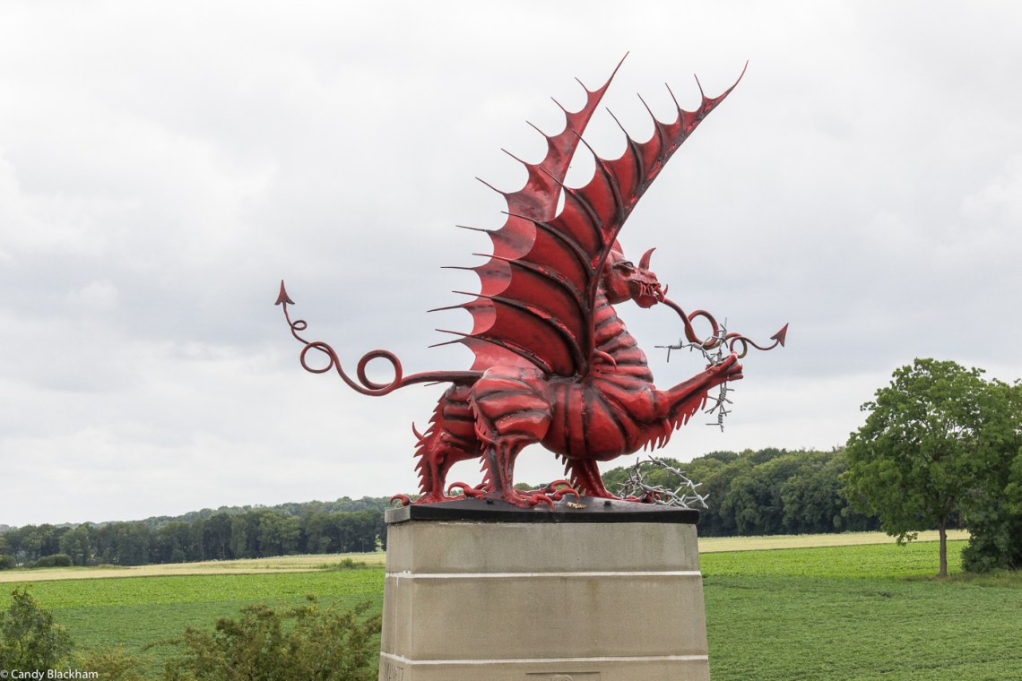The Memorial to the 38th Welsh Division at Mametz Wood
