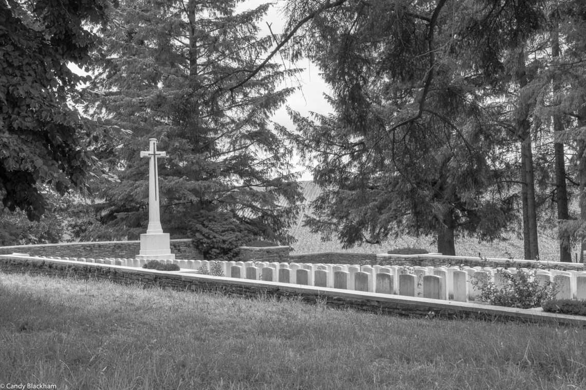 Y Ravine cemetery at Beaumont-Hamel