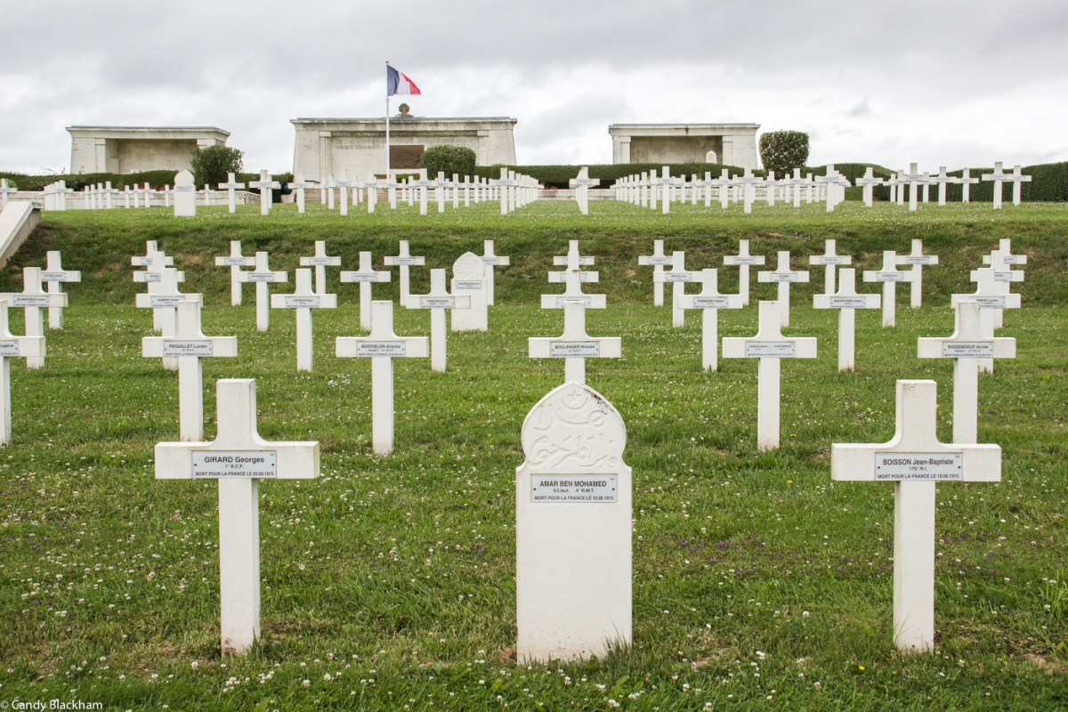 The French Cemetery at Pusieux