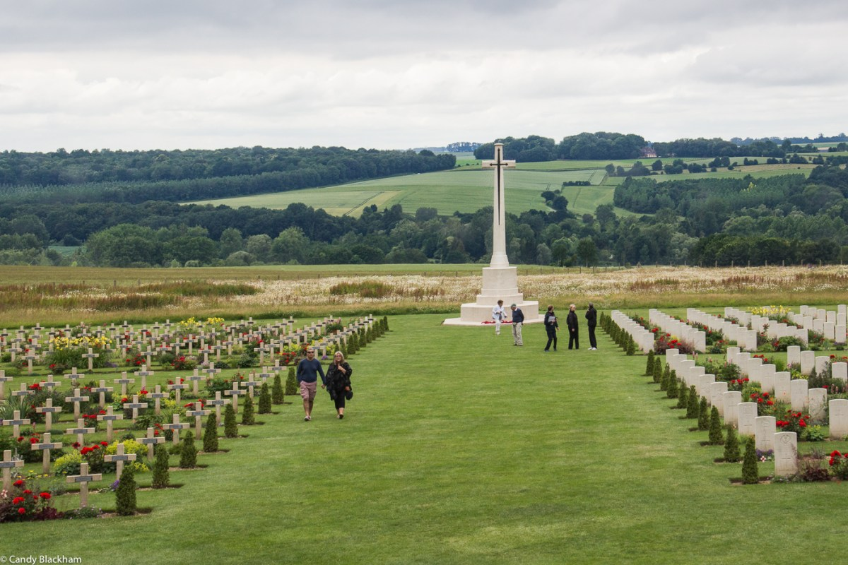 The Thiepval British and French Cemetery