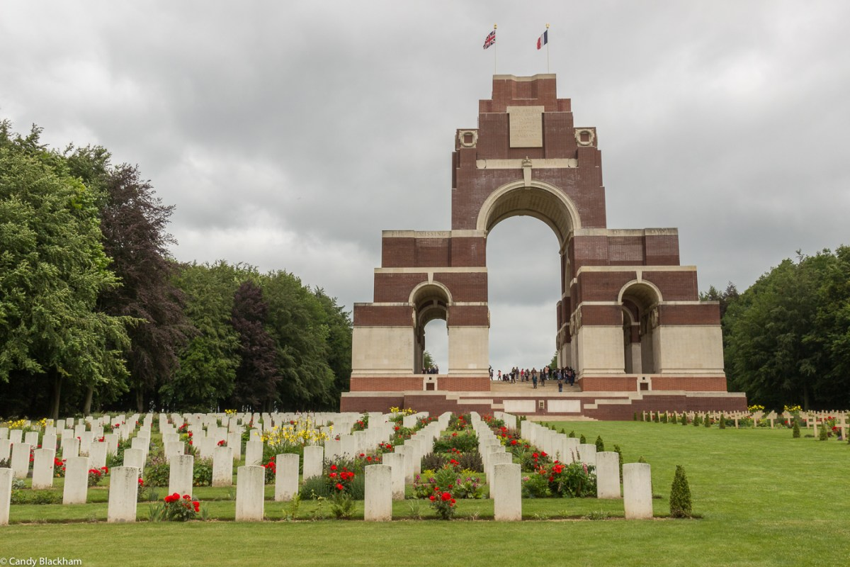 The British cemetery at Thiepval