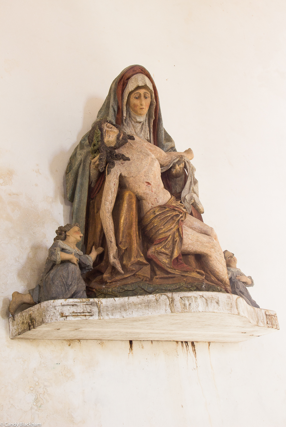 Pieta in the Church of St Melar, Locmelar