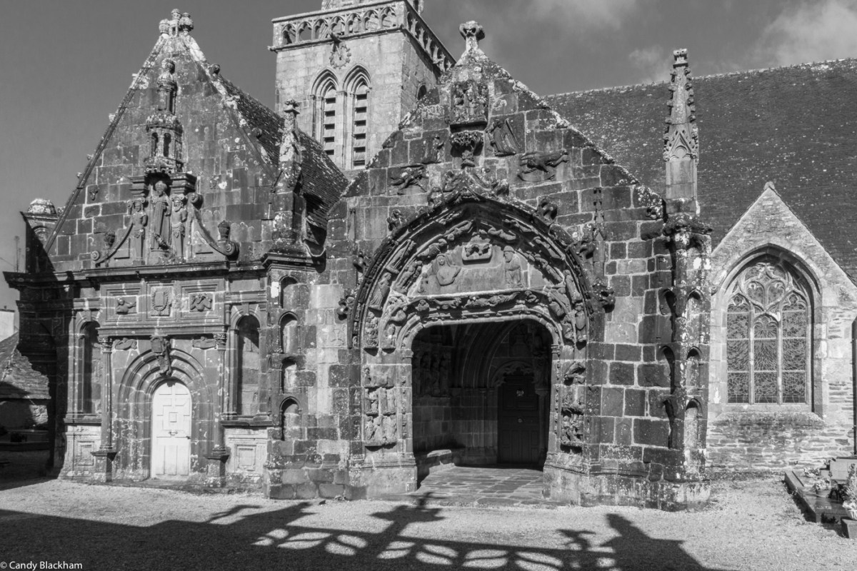 The Ossuary & South Porch of St Salomon in La Martyre