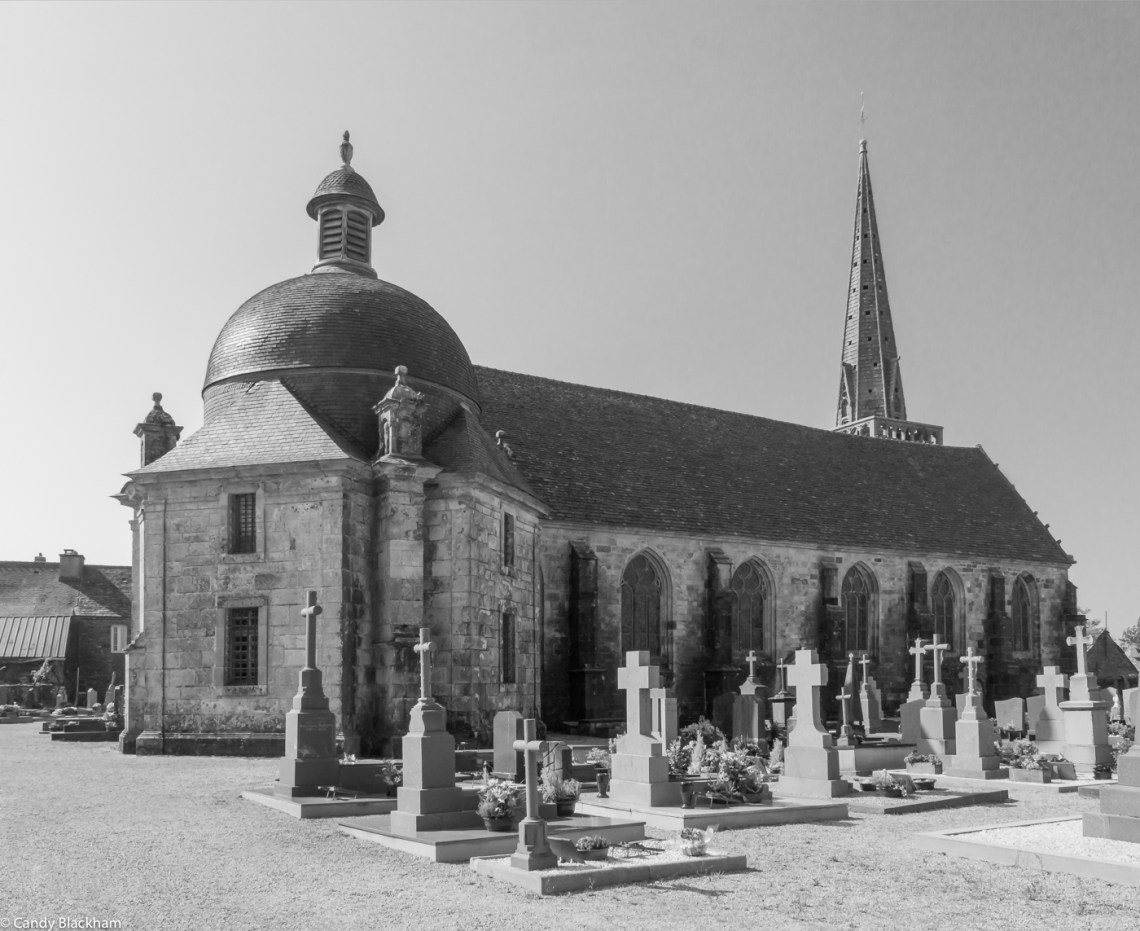 The Church of St Salomon in La Martyre